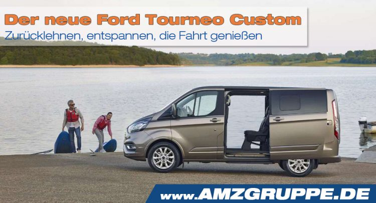 Ford Tourneo Custom 2018 AMZGrruppe.de