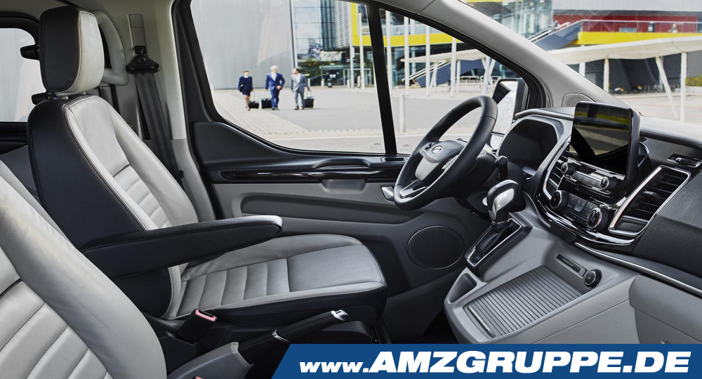 ford tourneo custom innenraum front amzgruppe. Black Bedroom Furniture Sets. Home Design Ideas