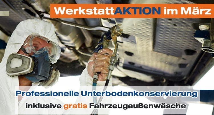 Werkstattaktion im März - Autohaus Pfüller