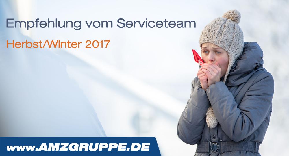 Werkstatt Service Herbst Winter 2017