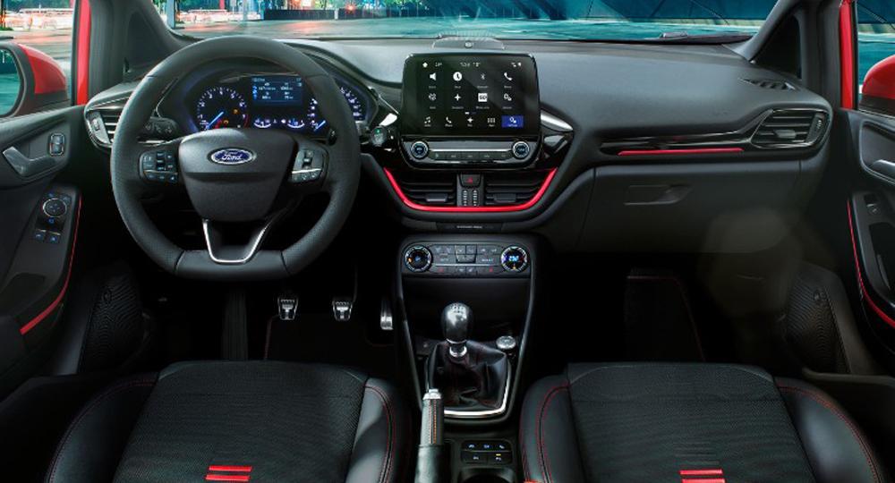 Ford Fiesta ST Interieur — AMZGruppe