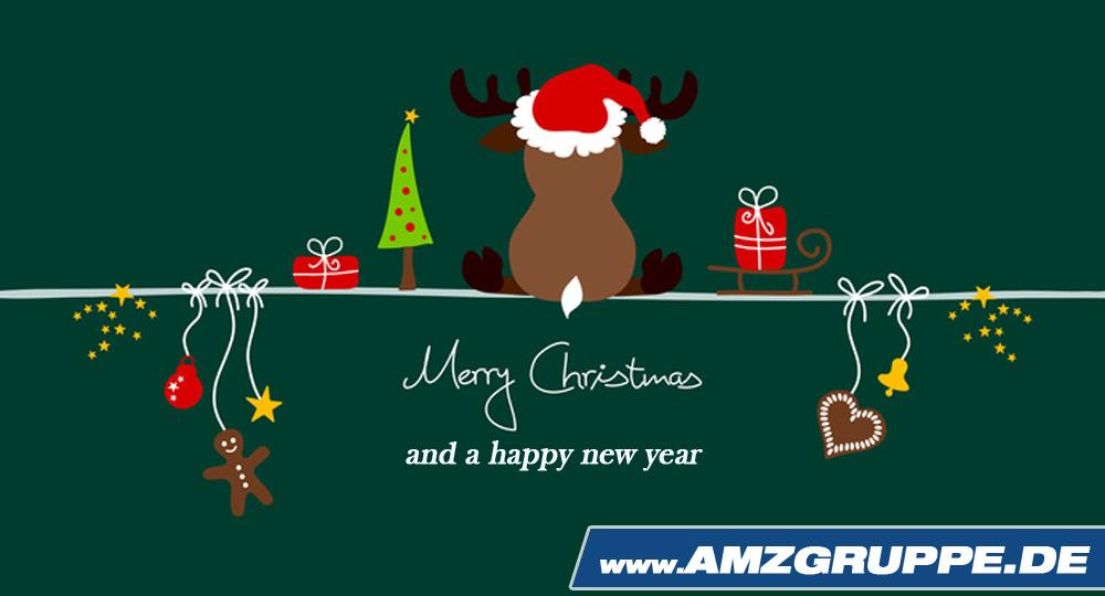 Bilder Weihnachten Neues Jahr.Frohe Weihnachten Ein Gutes Neues Jahr Amzgruppe