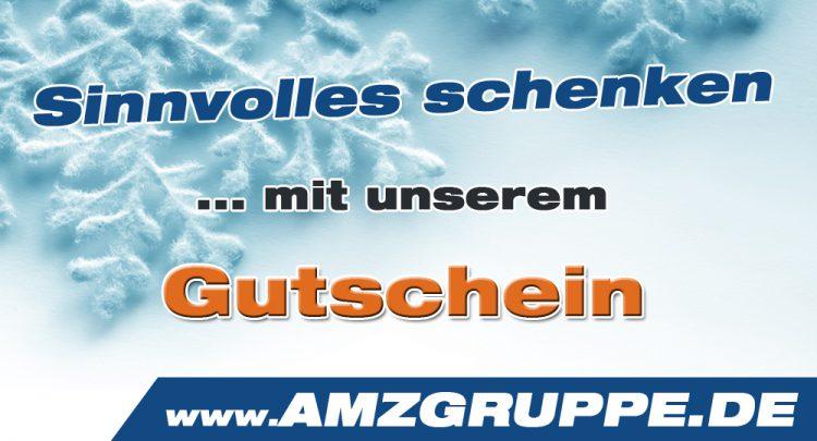 Weihnachten Geburtstag Gutschein AMZGruppe
