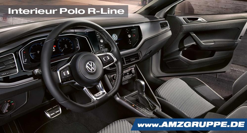 Interieur Polo R-Line — AMZGruppe