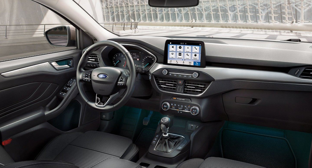 ford focus modernes ger umiges cockpit amzgruppe. Black Bedroom Furniture Sets. Home Design Ideas
