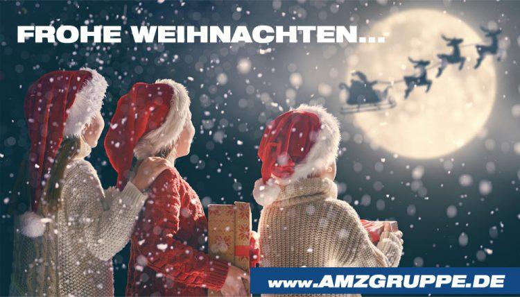 Frohe Weihnachten AMZgruppe