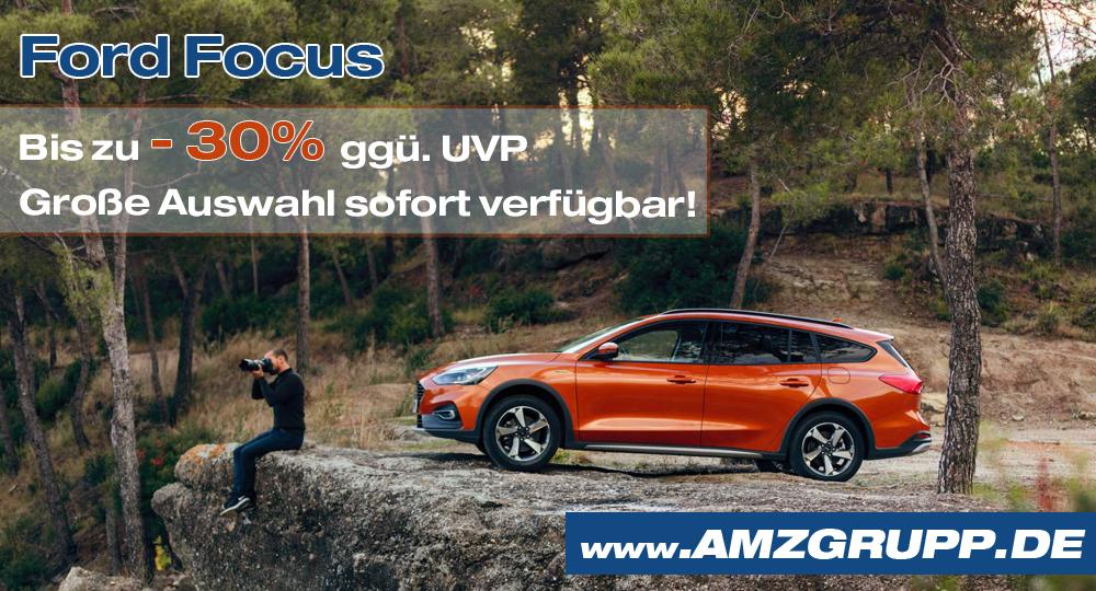 Ford Focus Preisvorteil Rabatt Autohaus Stollberg Autohaus Pfüller Thalheim AMZgruppe